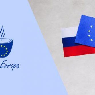 vlajky EU a Ruska