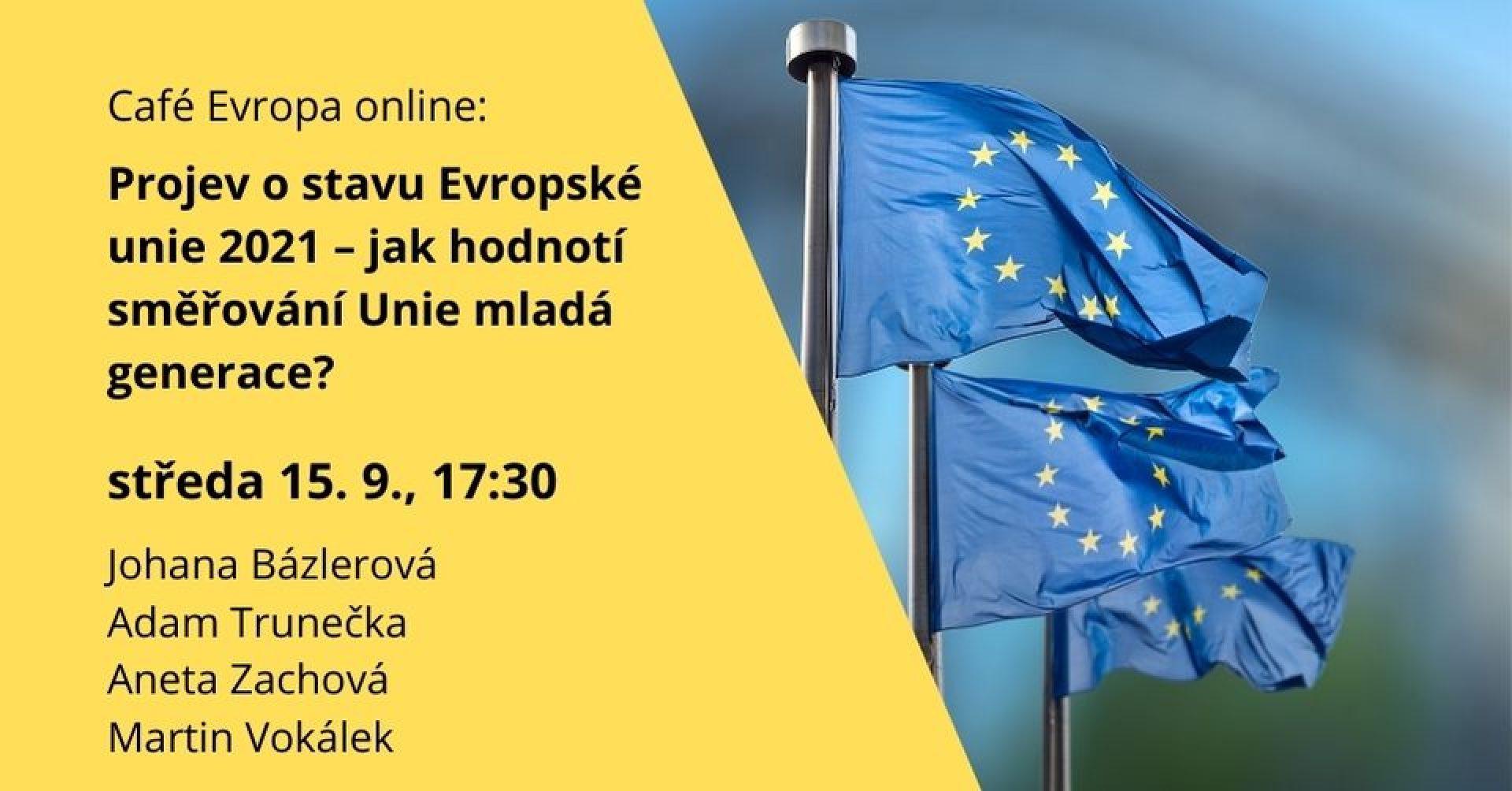 Pozvánka a obrázky vlajek EU